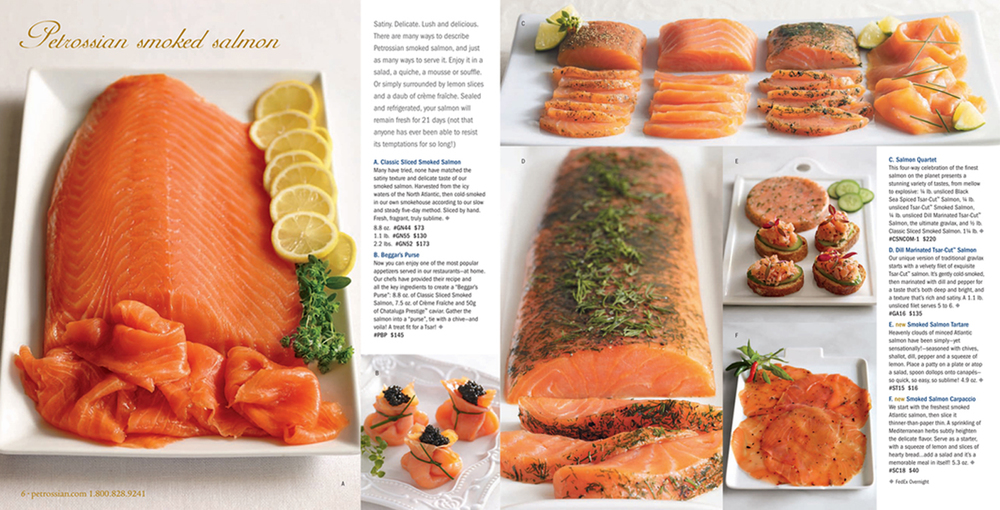 Petrossian Catalog Spread