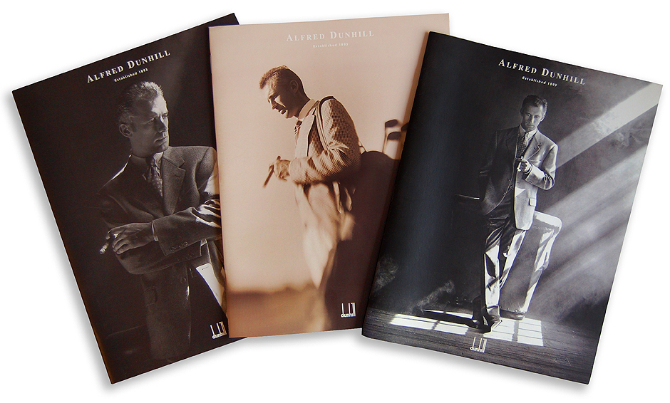 Alfred Dunhill Catalog Covers