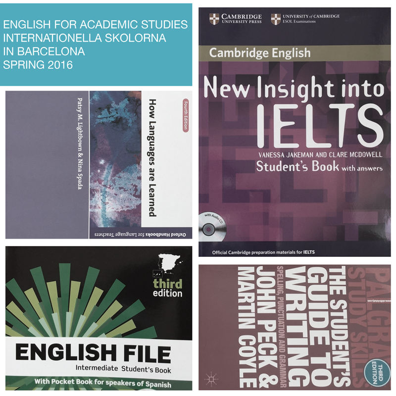 Learn english for academic studies
