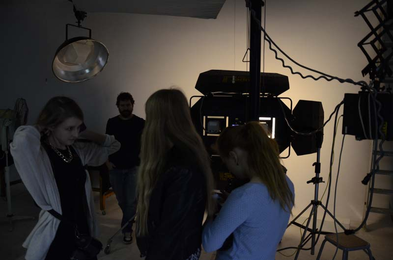 Fotografi, studiofotogragering i Barcelona