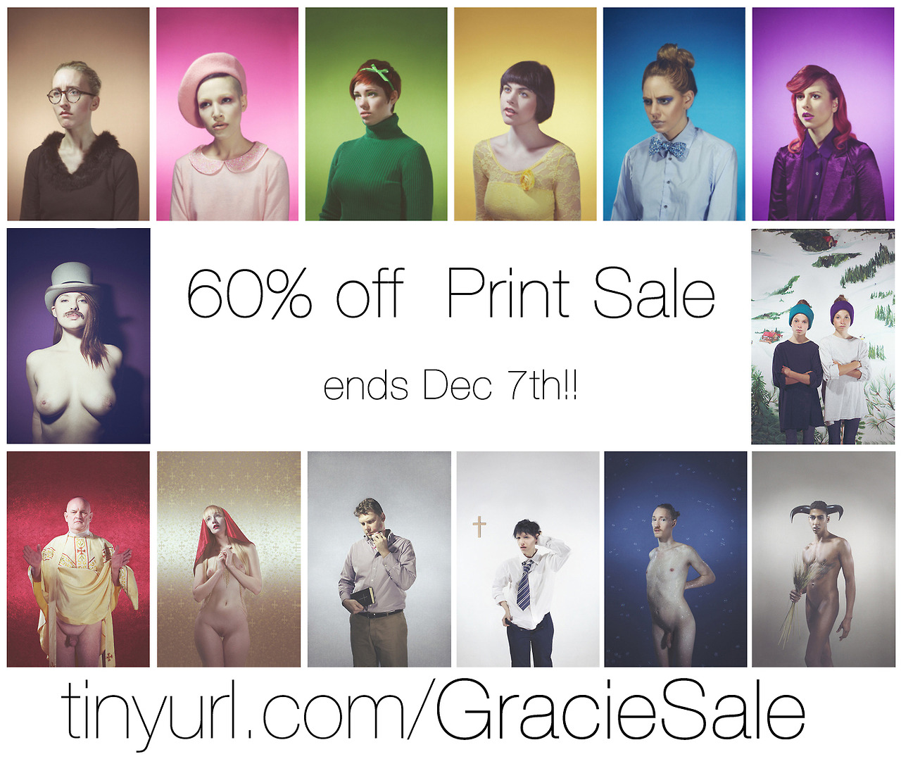 Last chance to get 60% off at my print store!     Trying to clean house & will NOT be selling anything new anytime soon; point being, these will be the last prints you can get for a while.    All have been shown in at least 2 galleries.  There is a variant of sizes depending on the print, check the drop down menu.       The sale ends in 4 days   , so get on it! :)   & REBLOG TO SUPPORT :)