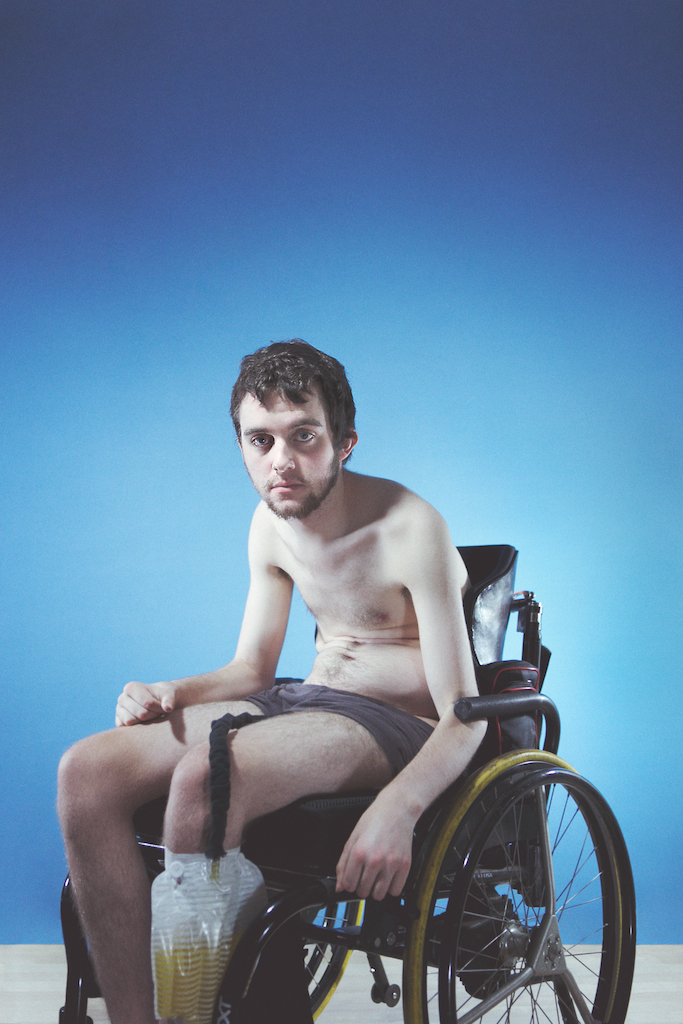 quadriplegia   [  Affect vs Effect  ]   Model:  Gabe       Photographer:  Gracie Hagen