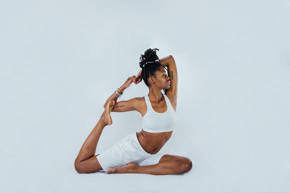 Imani Gracie Hagen Yoga Studio promotional images