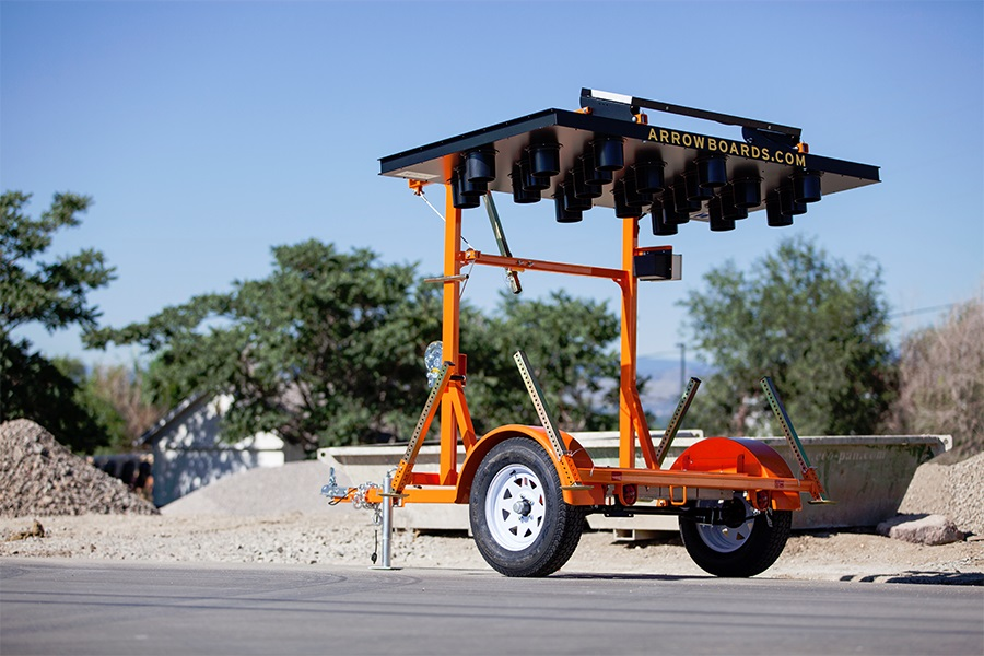 WECO arrow board trailer travel position.jpg