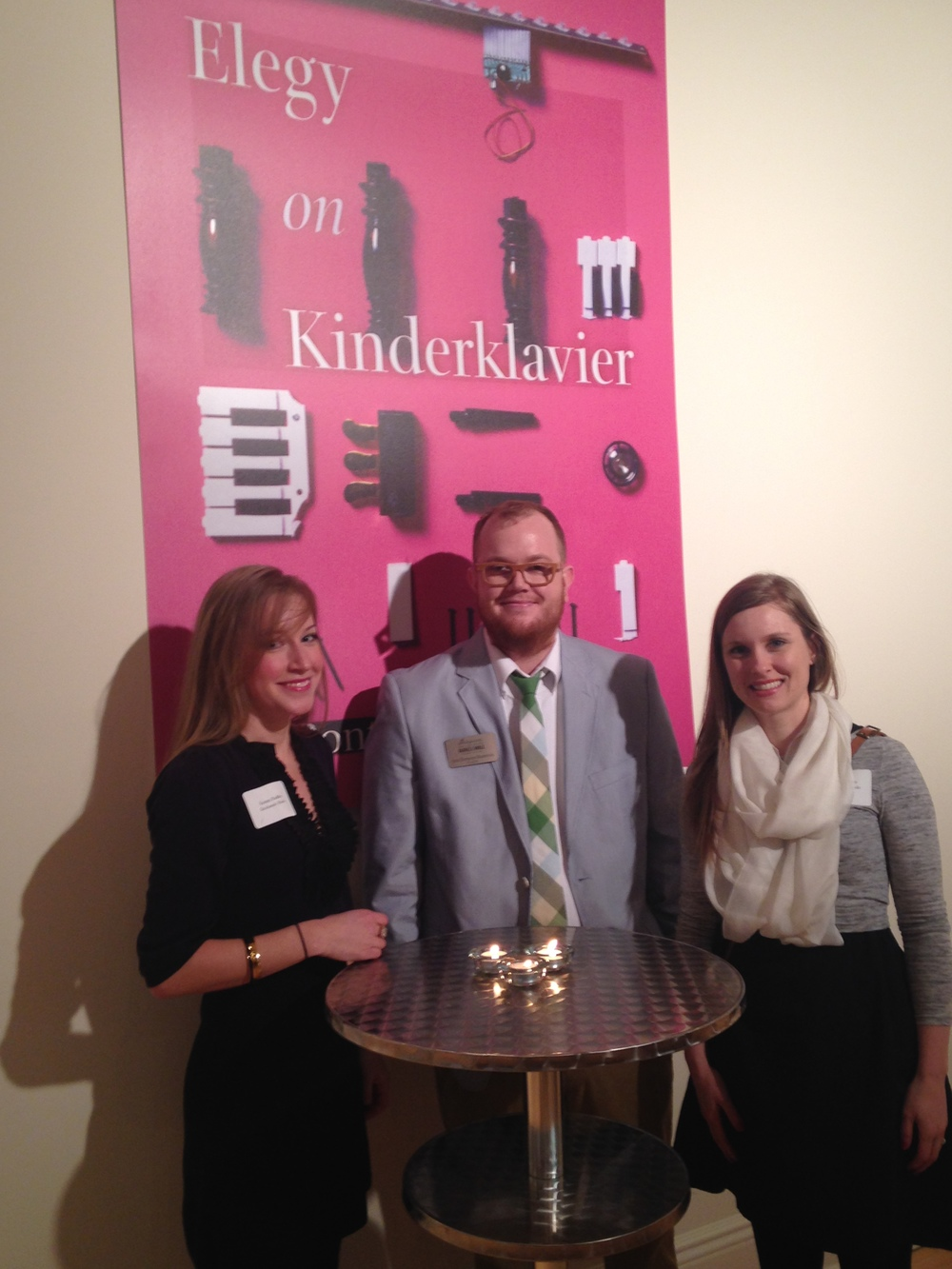 Arna Bontemps Hemenway with Marketing Director Kristen Radtke and Outreach Director Kristen Miller