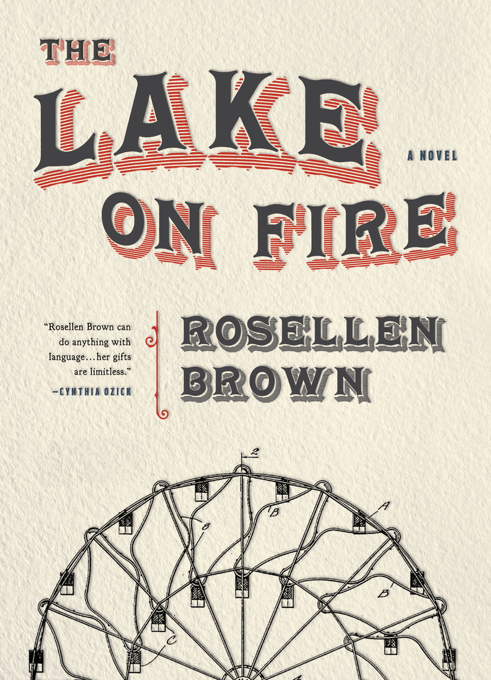 Cover of The Lake on Fire