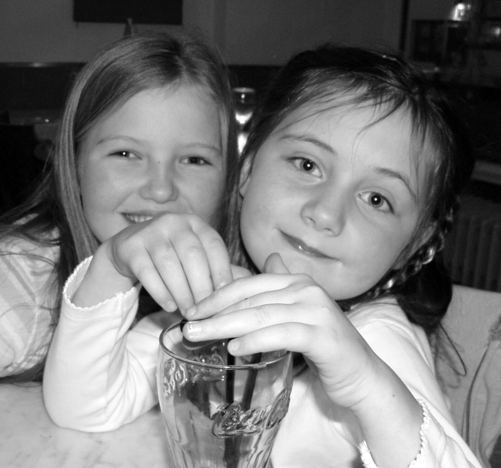 Besties, gorgeous girlies and partners in crime! xx Your 8th birthday 2006