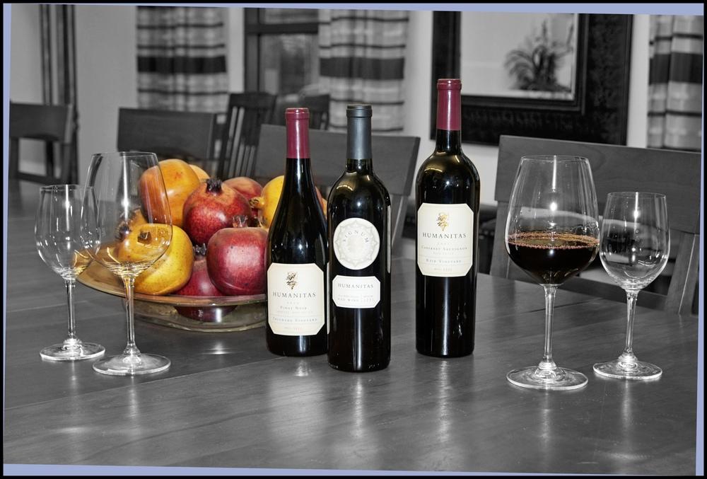 Humanitas Wine Bottles