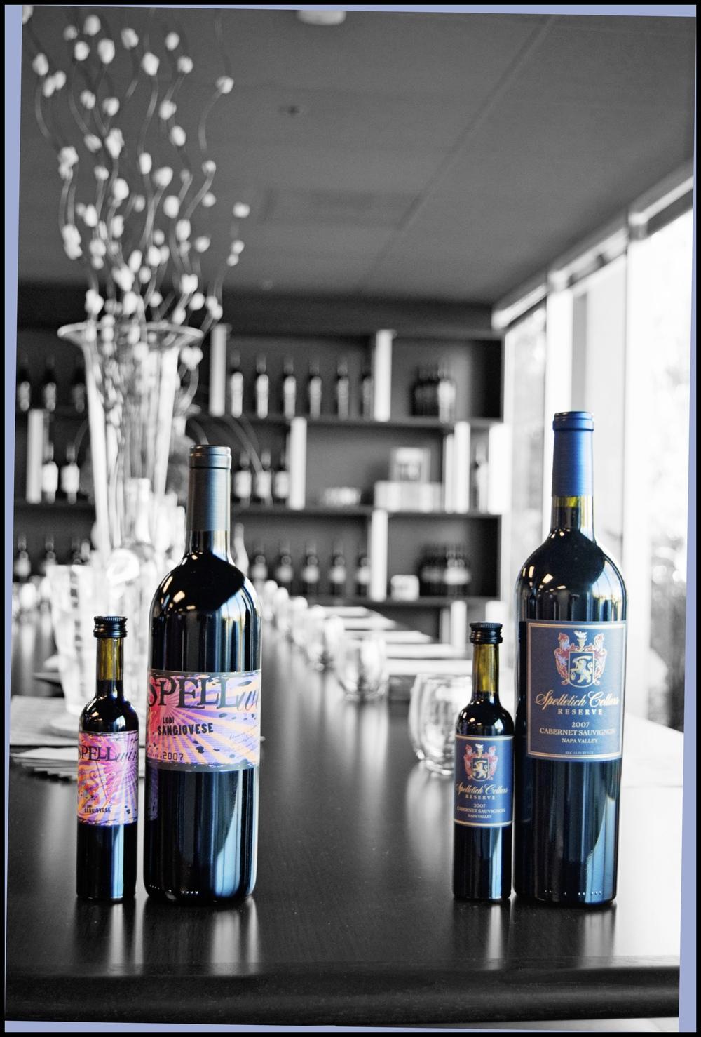 Spelletich Wine Bottles