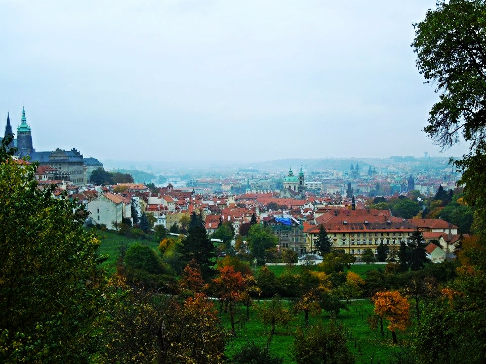 View from Petřin Hill