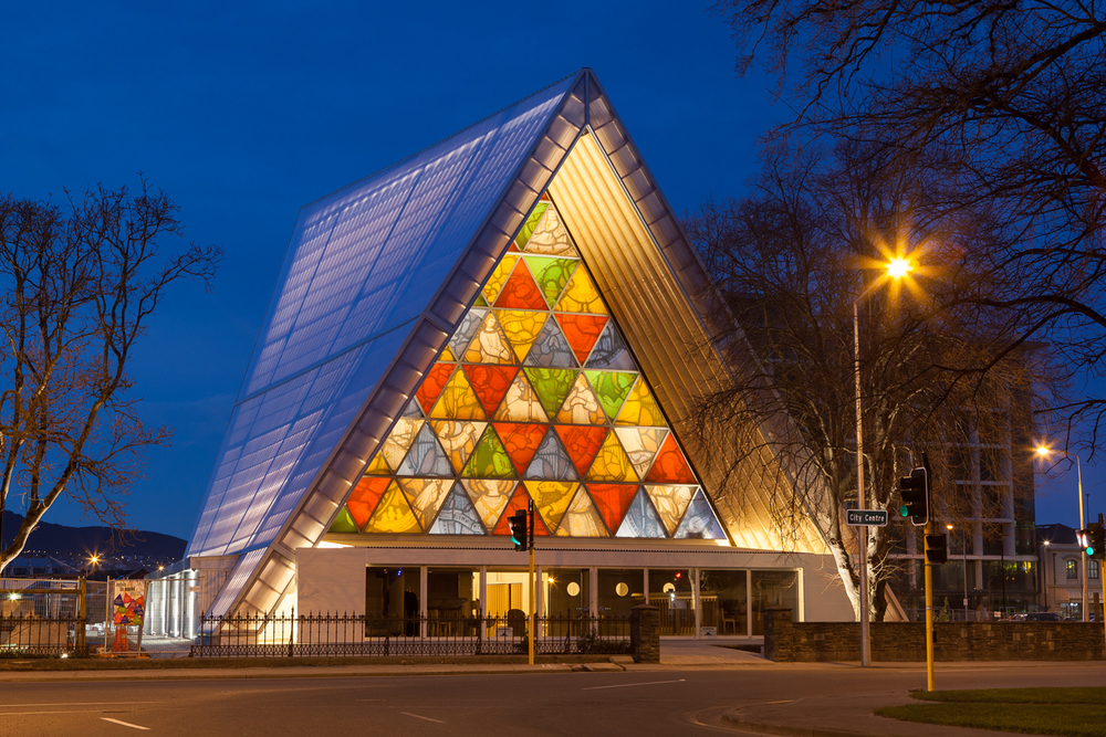 A beacon of light in earthquake-afflicted Christchurch: Shigeru Ban's inviting 'Cardboard Cathedral'