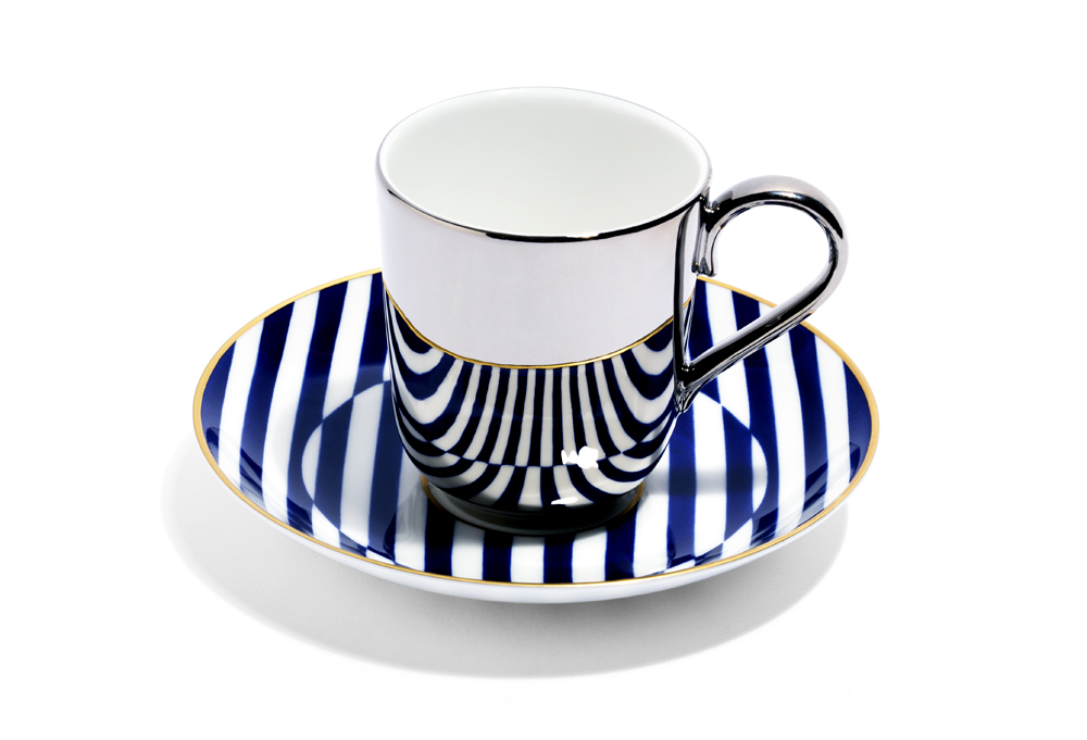 RB meets Patternity -Warp coffee cup and saucer - RRP £80.JPG