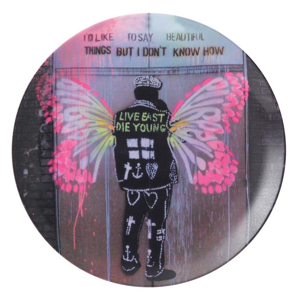 Street Art 27cm Plate - Beautiful Things-co.jpg