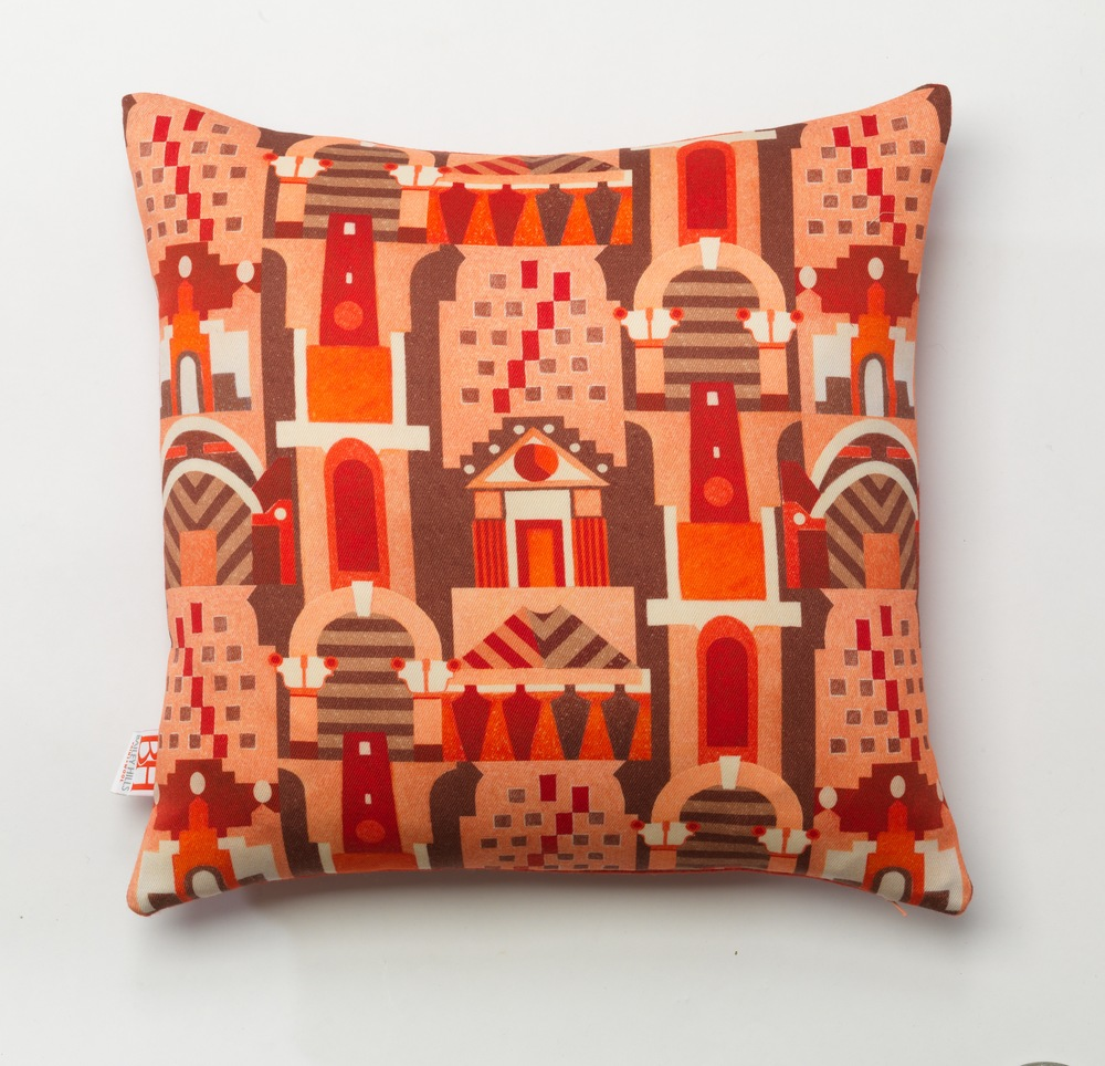 'Pastiche' printed wool twill cushion hi res from 'Facade' collection.jpg