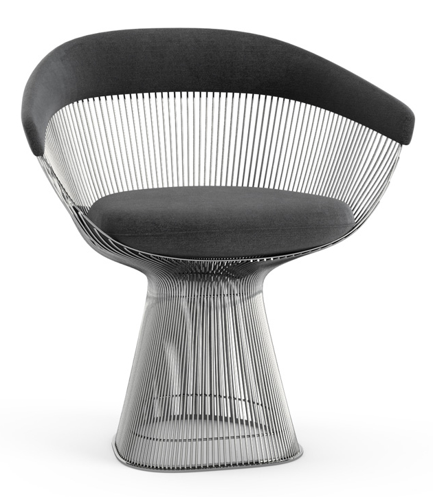 Steel Platner Arm Chair, 1966