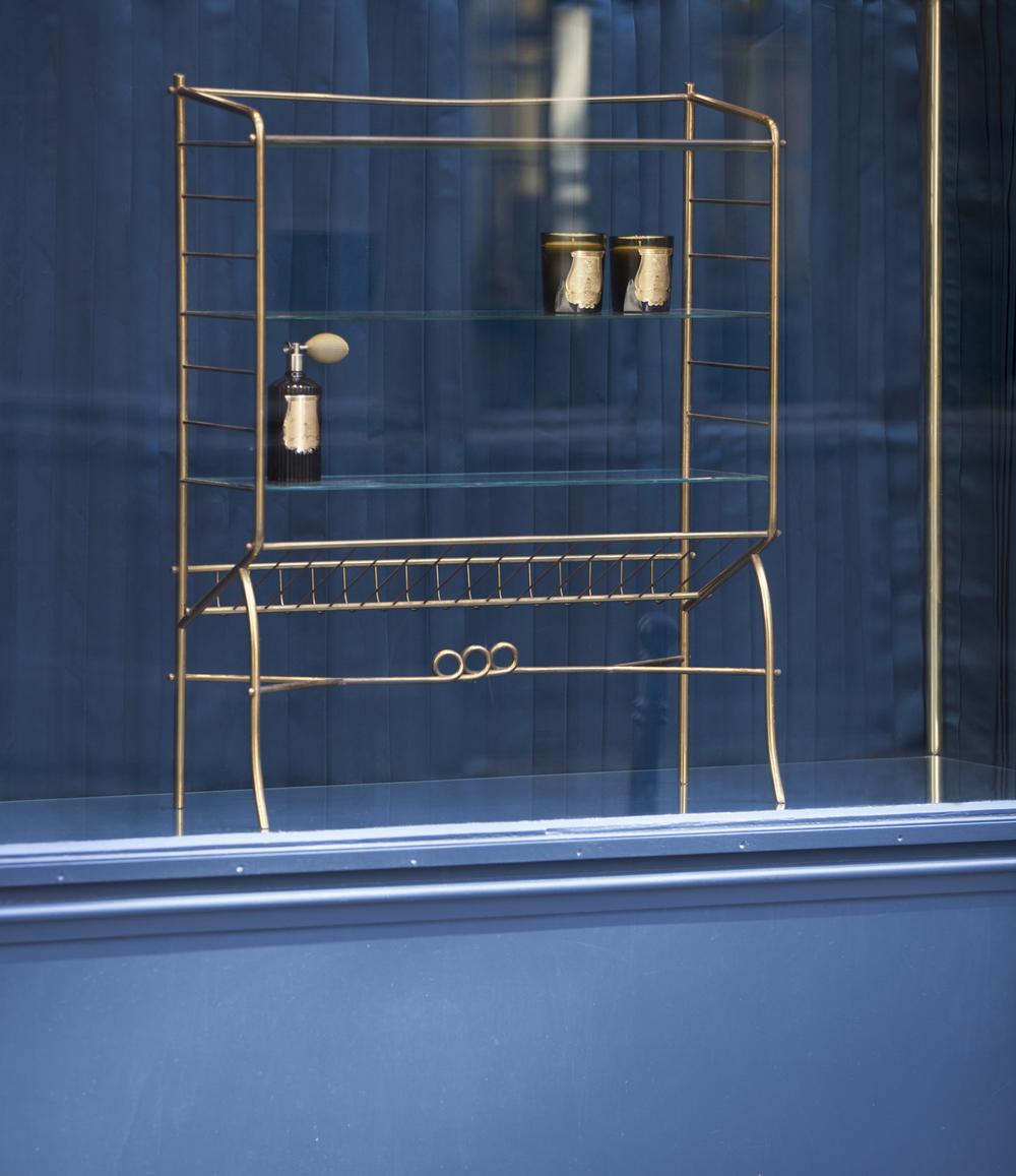 Navy And Grey Visual Merchandising Shop Display November: DesignFizz