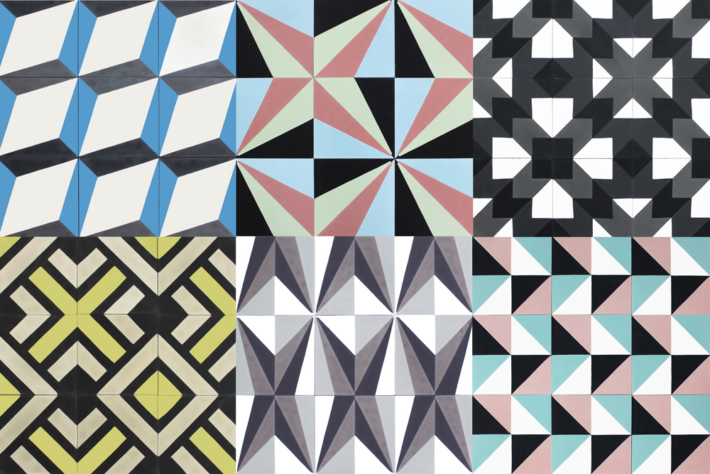 archives of Moroccan tile design have been raided by Mosaic Del Sur ...