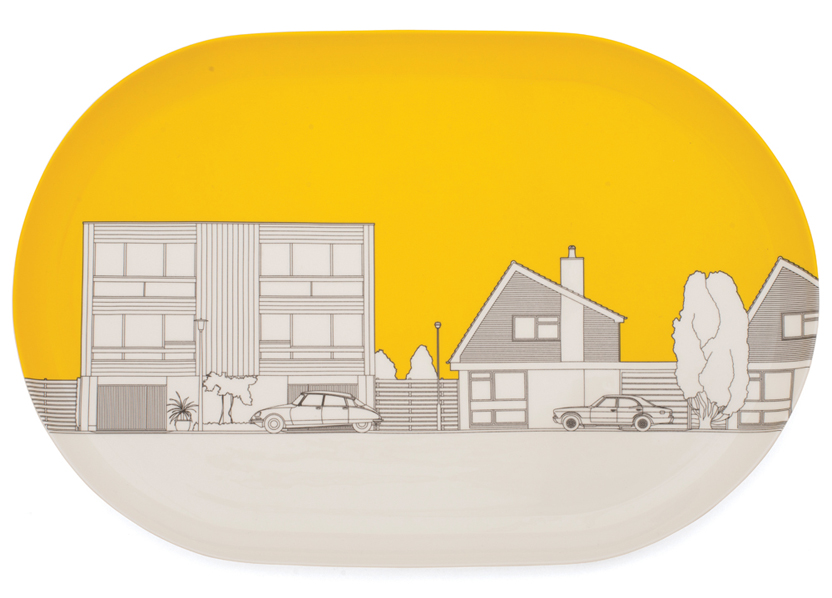DF Platter - 1960s 1970s Yolk Yellow.jpg