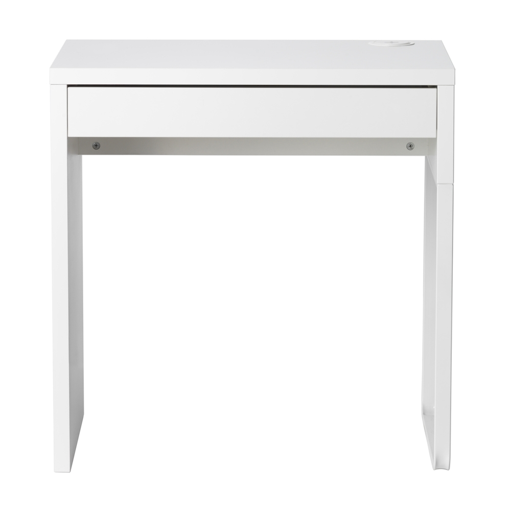 Small MICKE Desk, white £39 - particle board and fibreboard copy.jpg