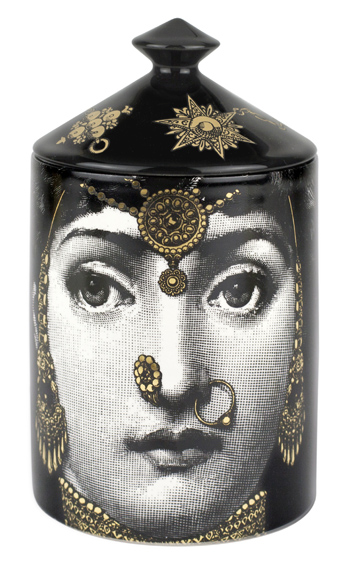 DF Fornasetti Profumi - L'Eclaireuse - Small Scented Candle Front.jpg