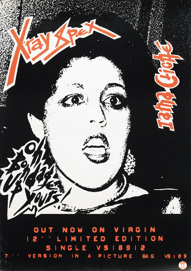 X ray poster design - 241x Ray Spex Poster Jpg