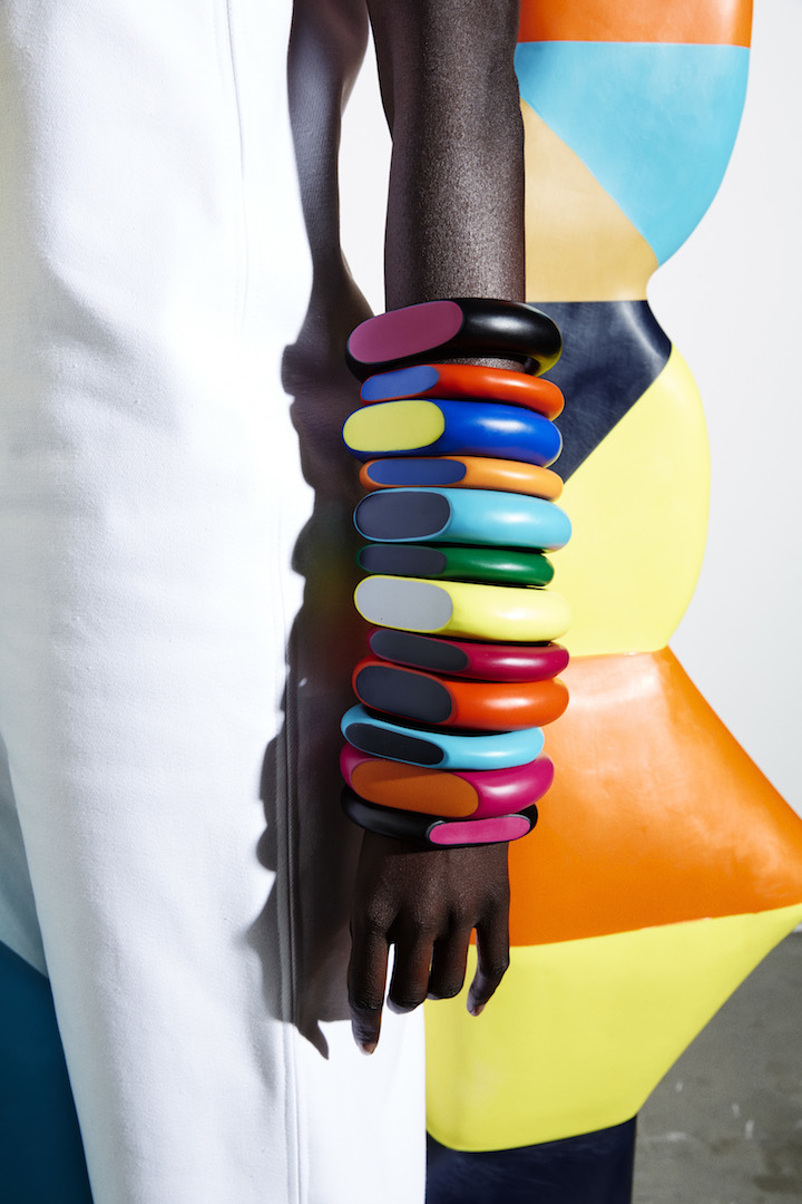 Dinosaur Designs_Colour Block_Jewellery_Coloured Bangle Stack.jpg