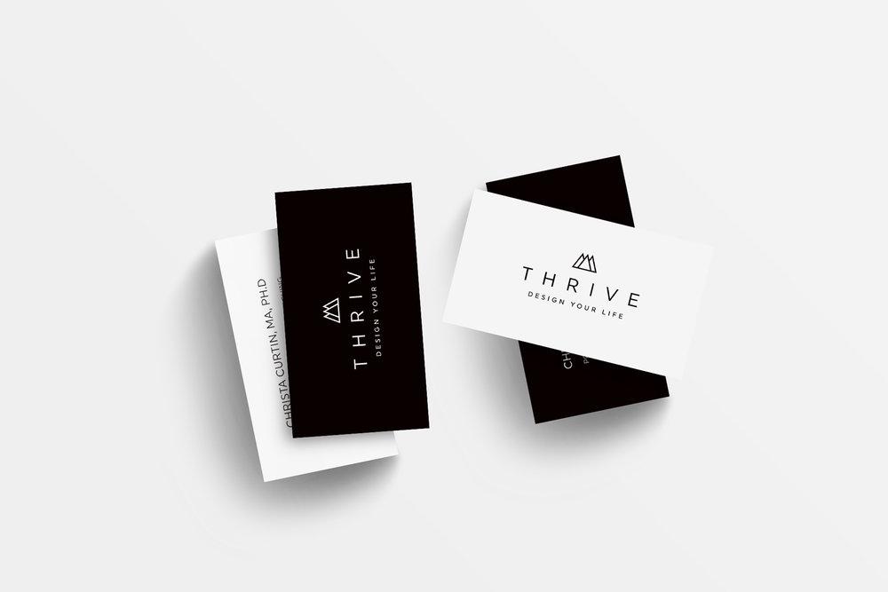 THRIVE branding