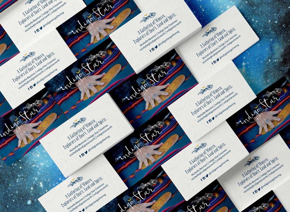 Indigo Star branding