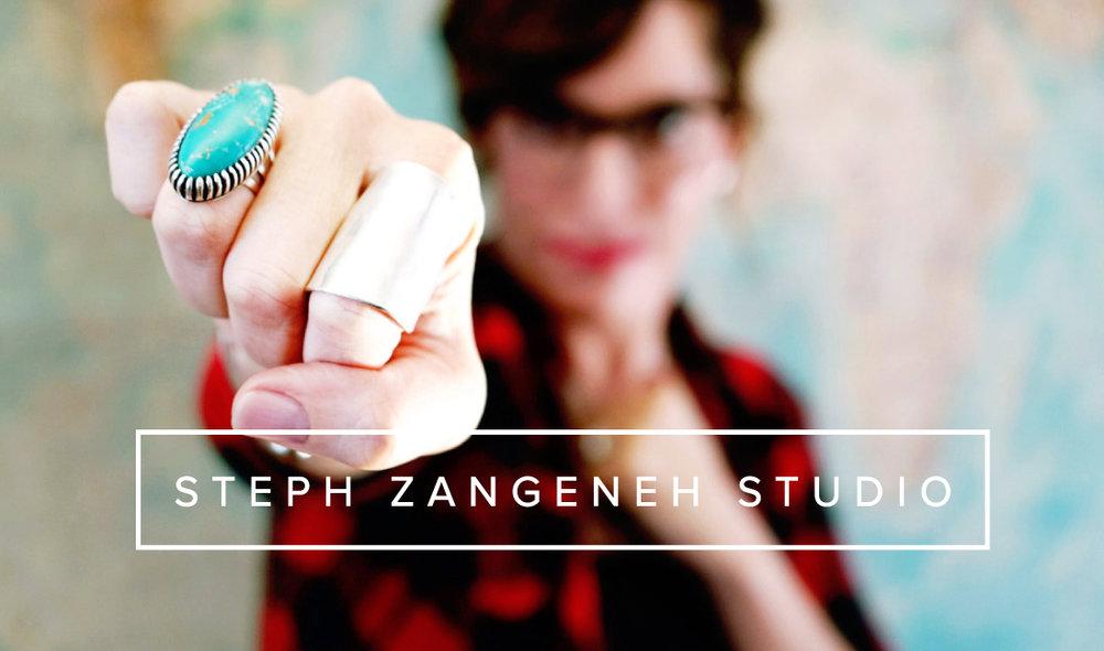 Steph Zangeneh Studio Logo
