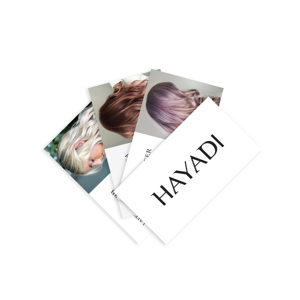 Hayadi business cards