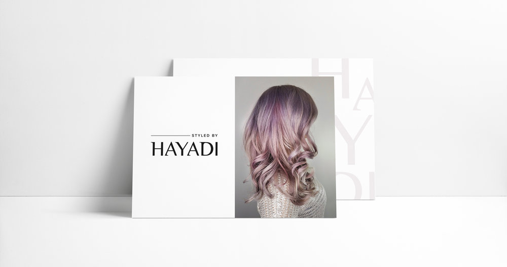 Hayadi thank you card