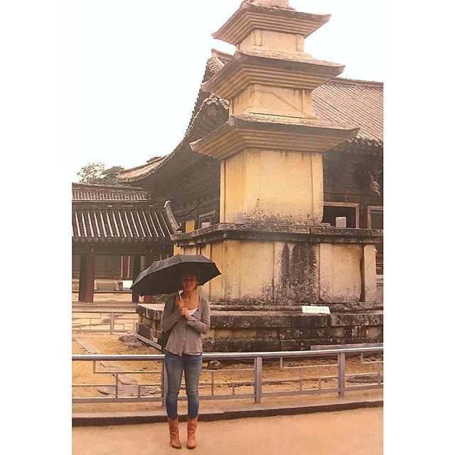 #tb to Korea.. and temples.. and pagodas.. and whatever boots those were.