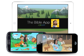 The Bible App for Kids - This app provides an interactive way for you and your children to read through the Bible and grow spiritually.