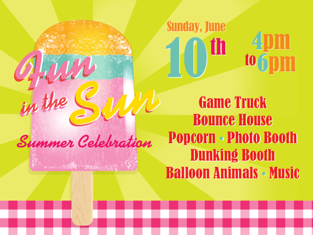 Also check out our awesome Summer Block Party right before Summer Jam VBS!