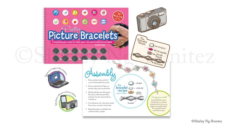 Pretty Picture Bracelets, Klutz (Scholastic, Inc.)
