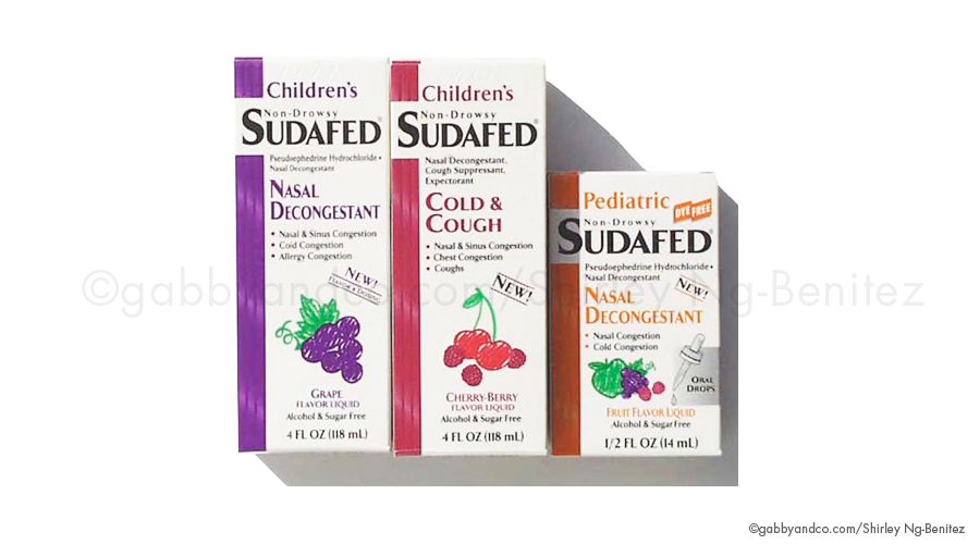 Sudafed Illustrations