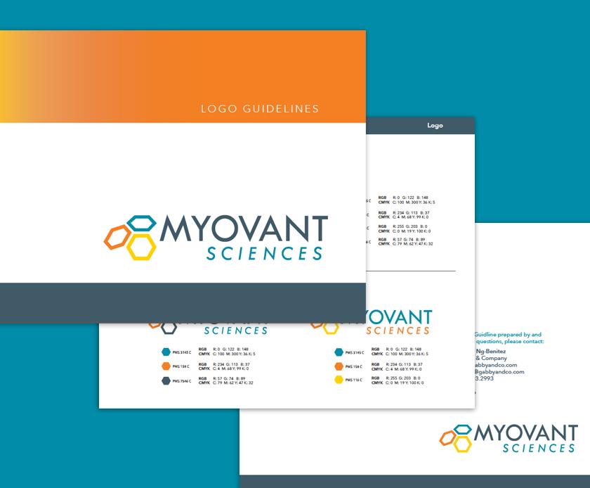 Myovant design guidelines