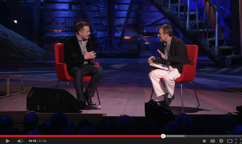 Elon Musk on TED