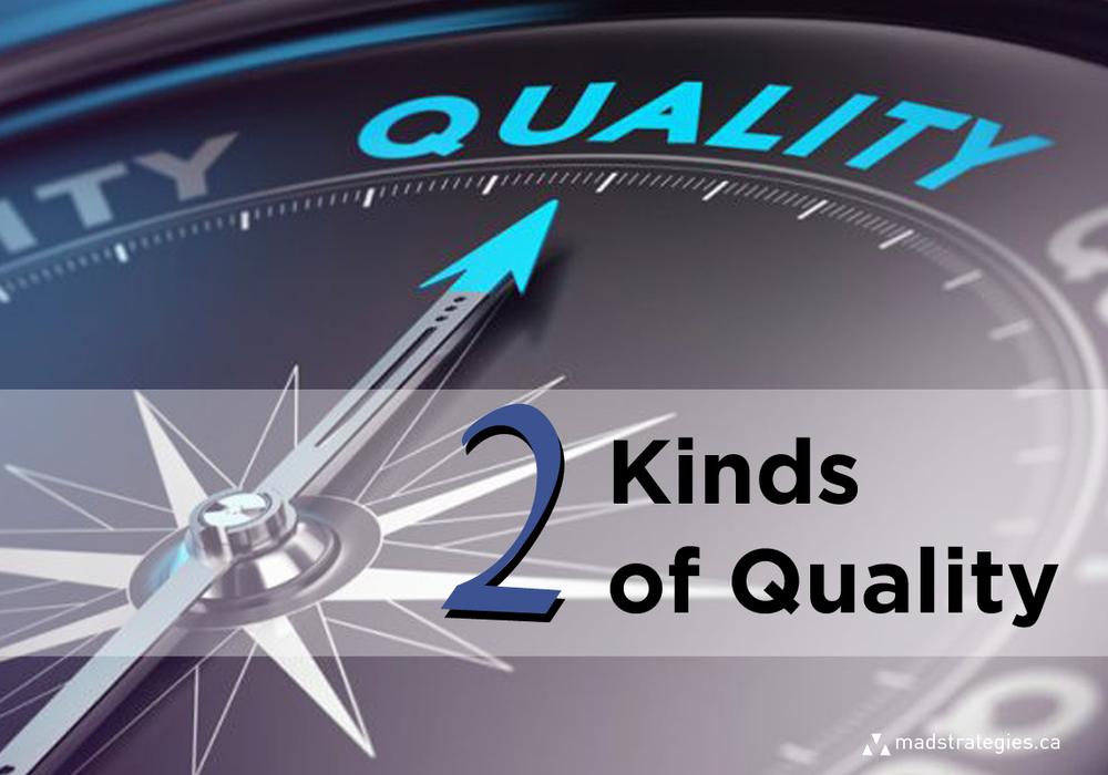Business Quality Versus Quantity Balance Concept