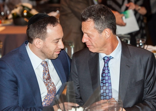 MORTY SILBER, CEO OF MAD STRATEGIES, TALKING BUSINESS WITH DROR, CEO OF AZORIM.