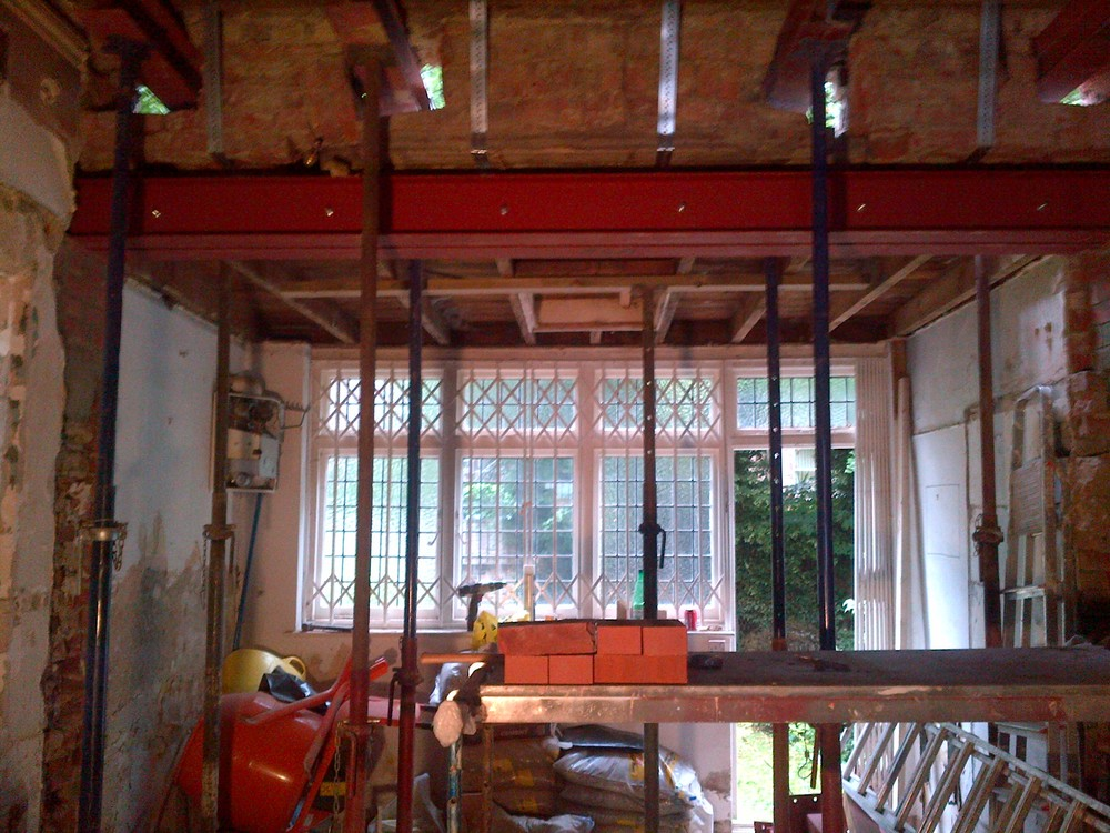 Frognal - Step 4 - Steels are in place - External wall removed.jpg