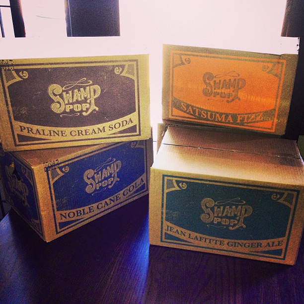 First delivery! #swamppop now served @thefrenchpresslafayette