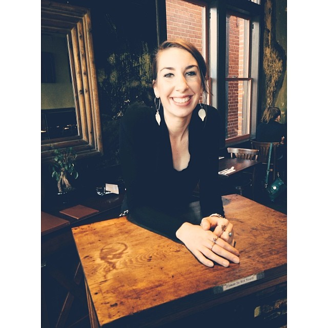 Come for lunch today and let the alway bright and shining @maddyl212 be at your service. #frenchpressstaff #lafayette #lunchhour #downtownlafayette