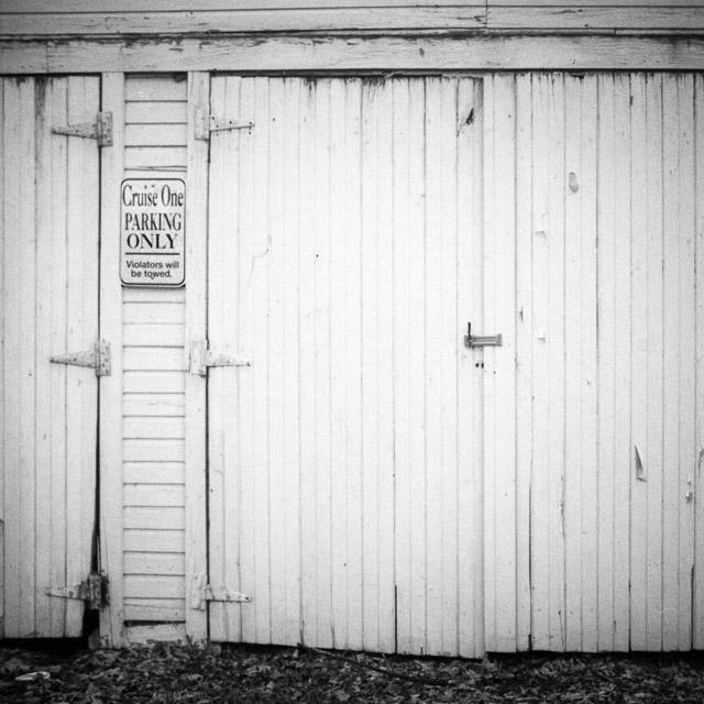 Garage Door, Dublin, OH Ilford FP4+