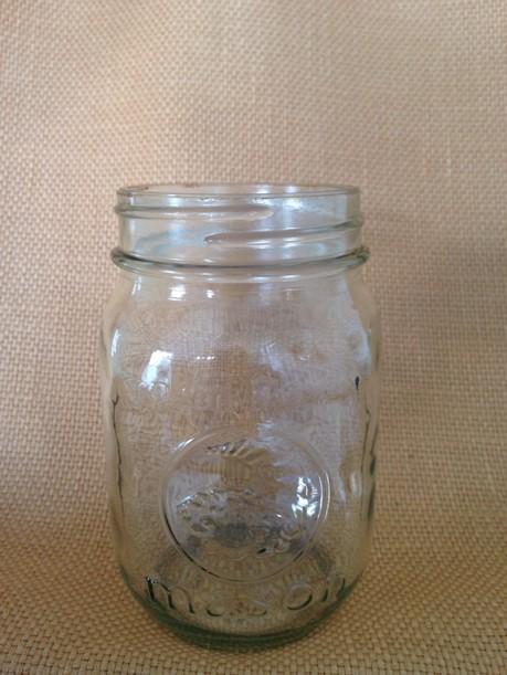 Pint Mason jar (regular mouth) In Stock: 50 Price: $1,00 ea.