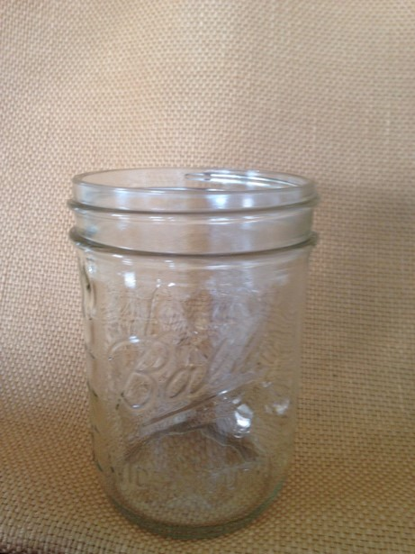 Pint Mason jar (wide mouth) In Stock: 50 Price: $1,00 ea.
