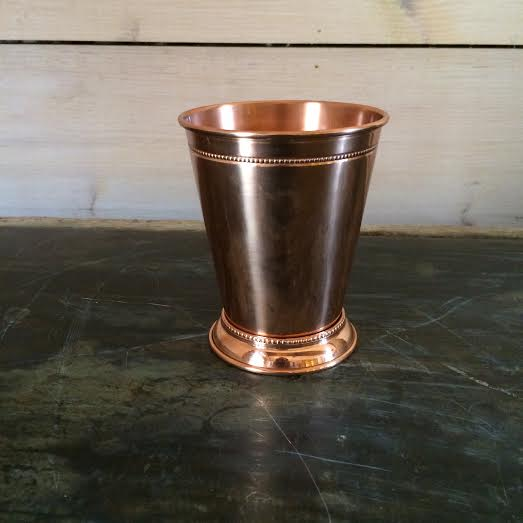 Copper Mint Julep cup                                 In Stock: 8                                           Price: $2.50