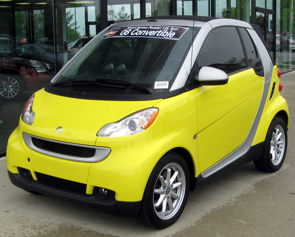 second generation 451 fortwo   Second generation, build series W451 ,C 451, Coupé , A 451, Cabrio, was introduced in November 2006 sold 2007–2014    Penske Automotive Group became the official distribution channel in 2008 .    The distribution was taken over by Mercedes-Benz USA in middle of 2011