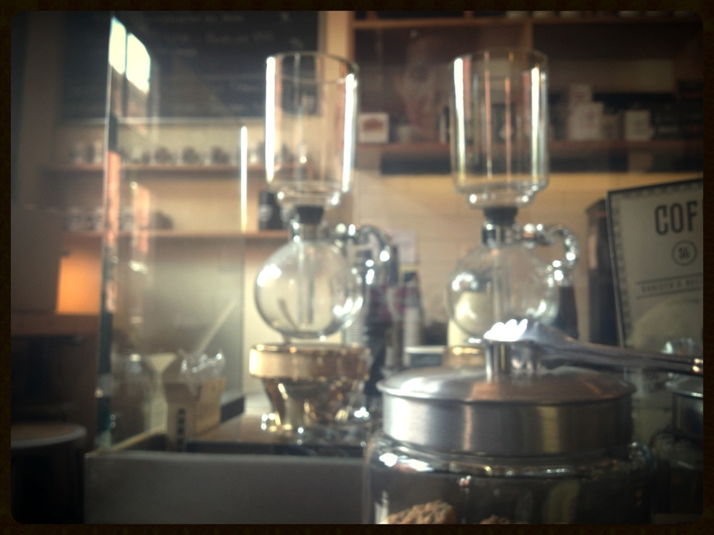 steampunk meets coffee