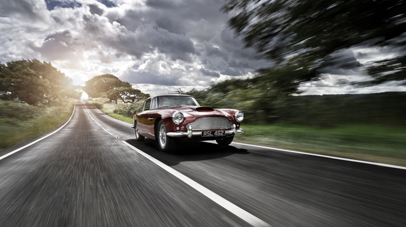How could anyone  not  want to own an Aston Martin when it's depicted in such an inspiring way?